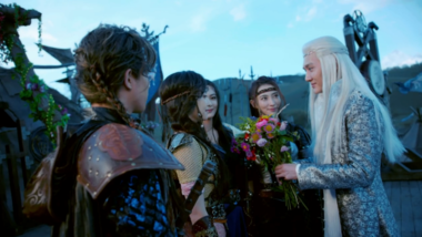 The Wedding: Ice Fantasy