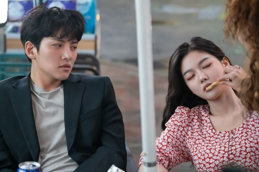 Ji Chang Wook And Kim Yoo Jung Let Loose While Drinking Together ...