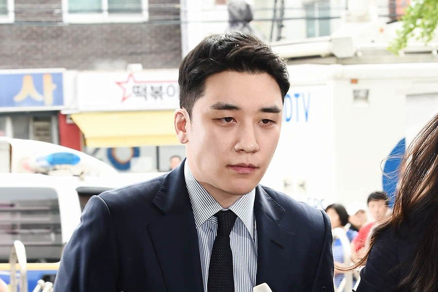 Seungri Arrives At Police Station For Questioning On Gambling Suspicions
