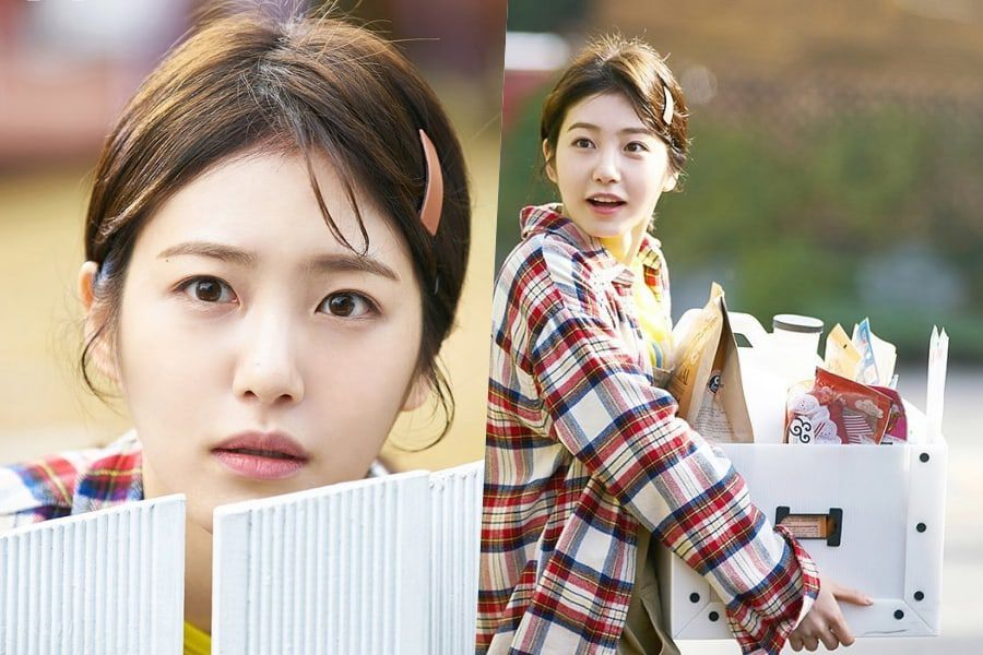 Shin Ye Eun Gets Caught Awkwardly Hiding From Her Crush In Upcoming Rom-Com With INFINITE's L