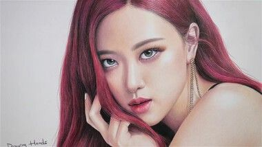 Drawing Hands Episode 98: Speed Drawing BLACKPINK's Rose