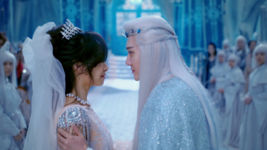 First Kiss as Husband and Wife: Ice Fantasy
