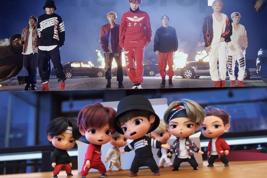 Big Hit Entertainment Launches New Character Brand TinyTAN Based On BTS |  Soompi
