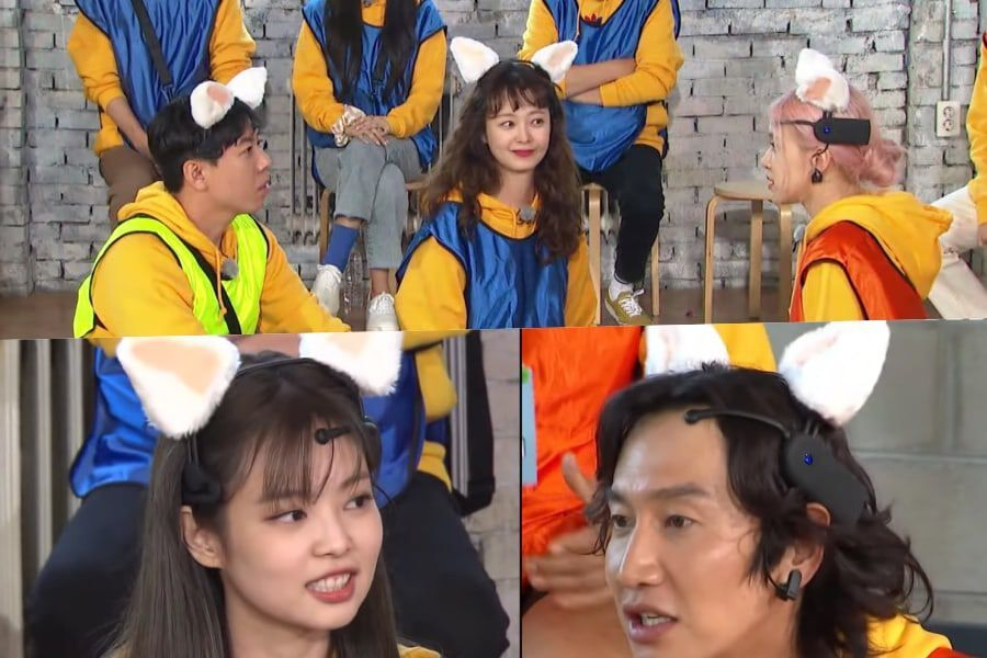 "BLACKPINK's Rosé Sets Up Jun So Min And Yang Se Chan While Jennie Throws Lee Kwang Soo Off In ""Running Man"""