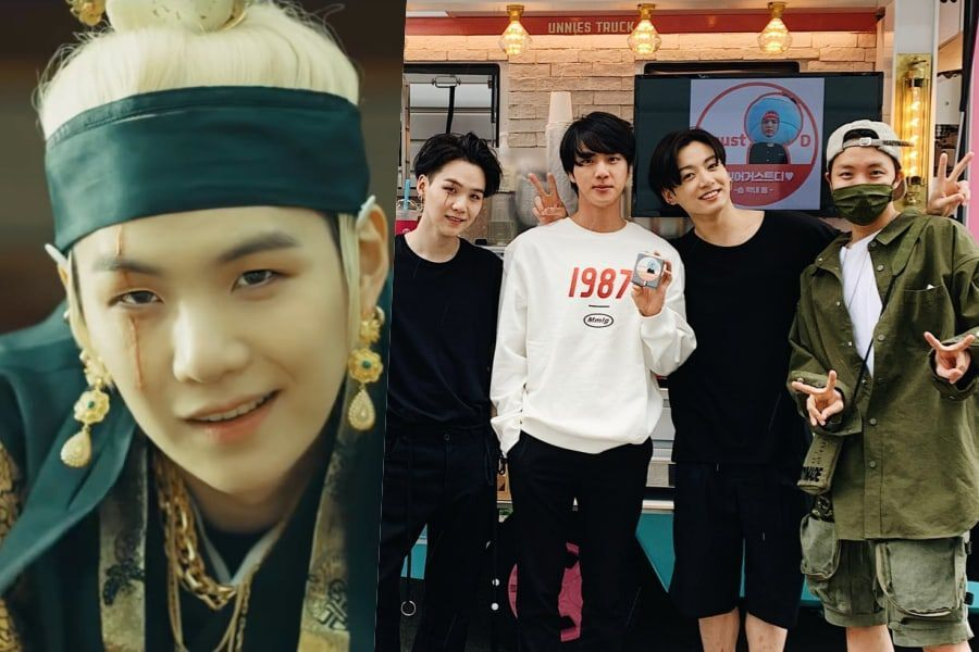 Bts Suga Thanks J Hope For Thoughtful Show Of Support For His