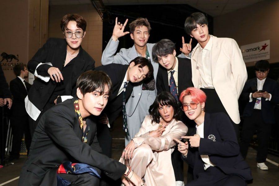 BTS Congratulates Halsey On Becoming A Mother
