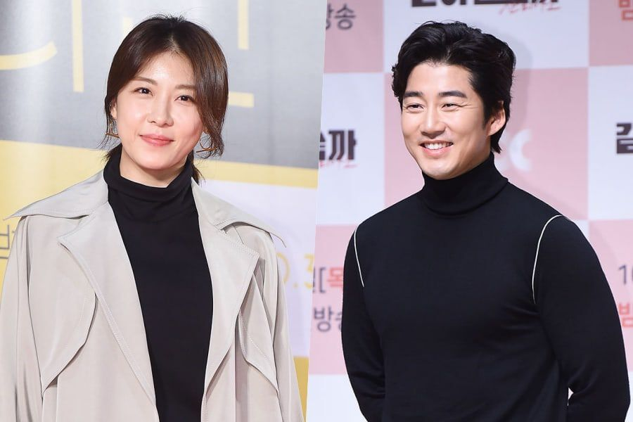 Ha Ji Won And Yoon Kye Sang Co...