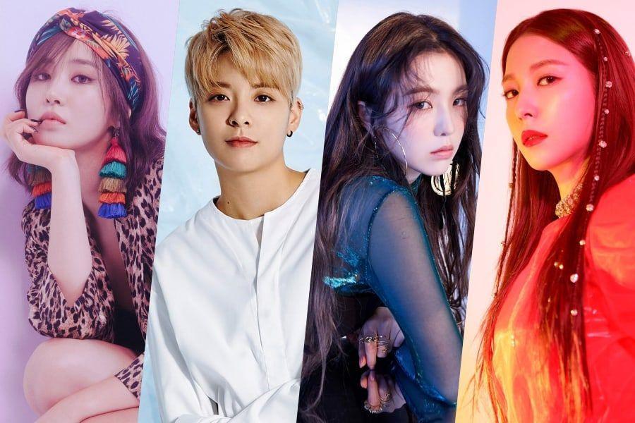 Girls' Generation's Yuri, f(x)'s Amber, And Red Velvet's Irene Show Support For BoA
