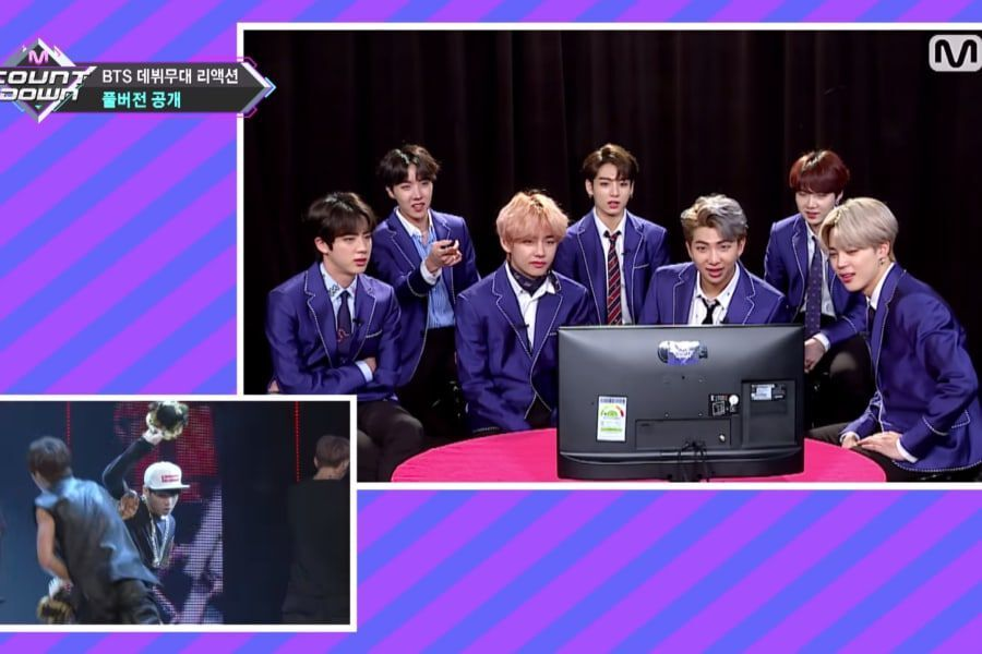Watch: BTS Reacts To Debut Performances And Sends Touching Messages