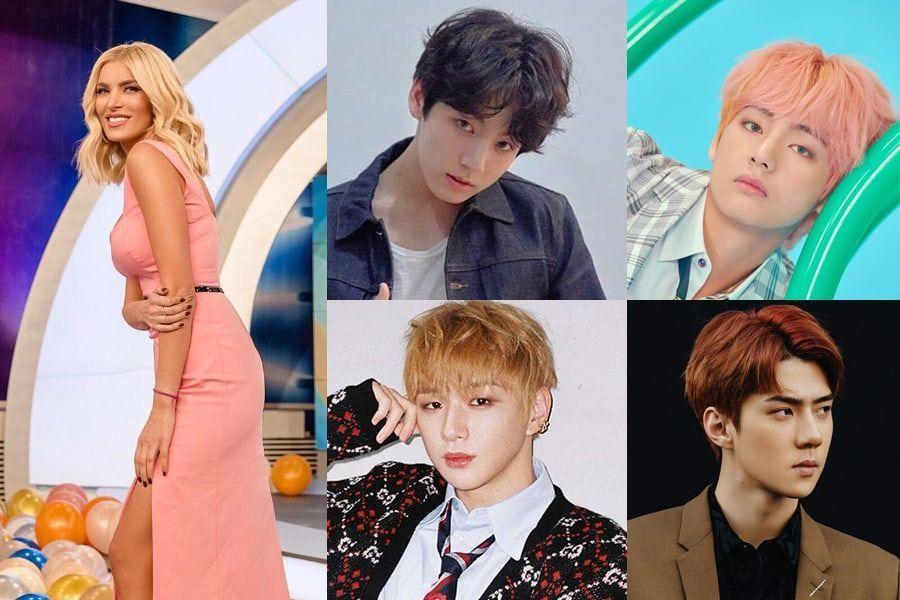 Presentadora de televisión de programa griego se disculpa por hacer comentarios negativos hacia ídolos masculinos del K-Pop
