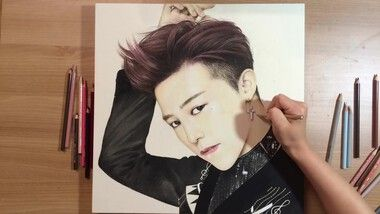 Drawing Hands Episode 93: Speed Drawing Big Bang's G-Dragon