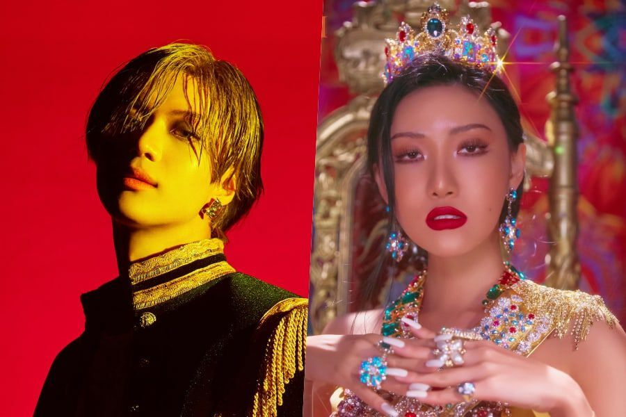 SHINee's Taemin And MAMAMOO's Hwasa Top Gaon Weekly Charts