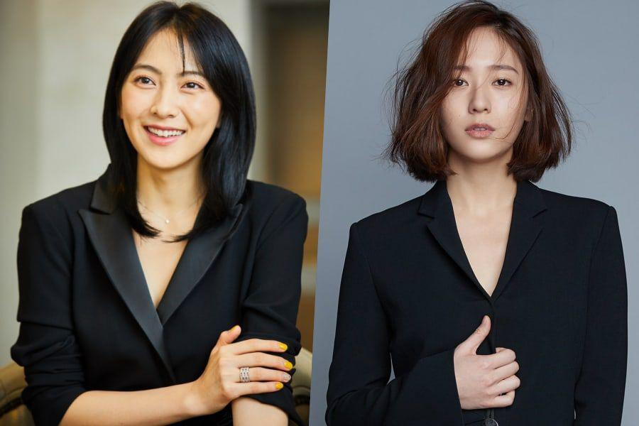 Kang Ji Young Gets Support On Drama Set From f(x)'s Krystal