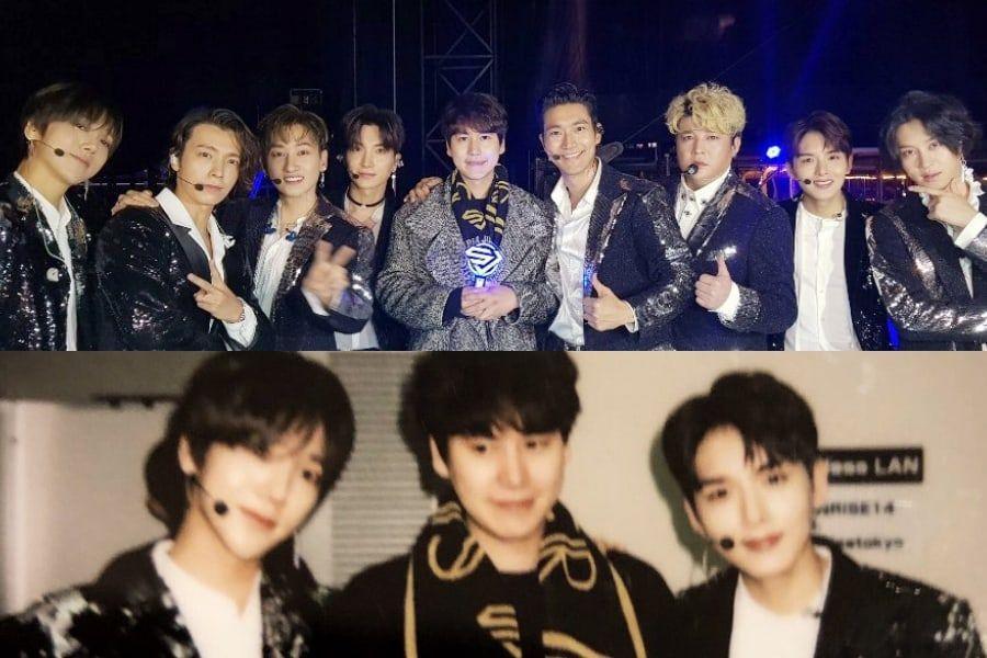 Kyuhyun Reunites With Super Junior At Their Concert In Japan | Soompi