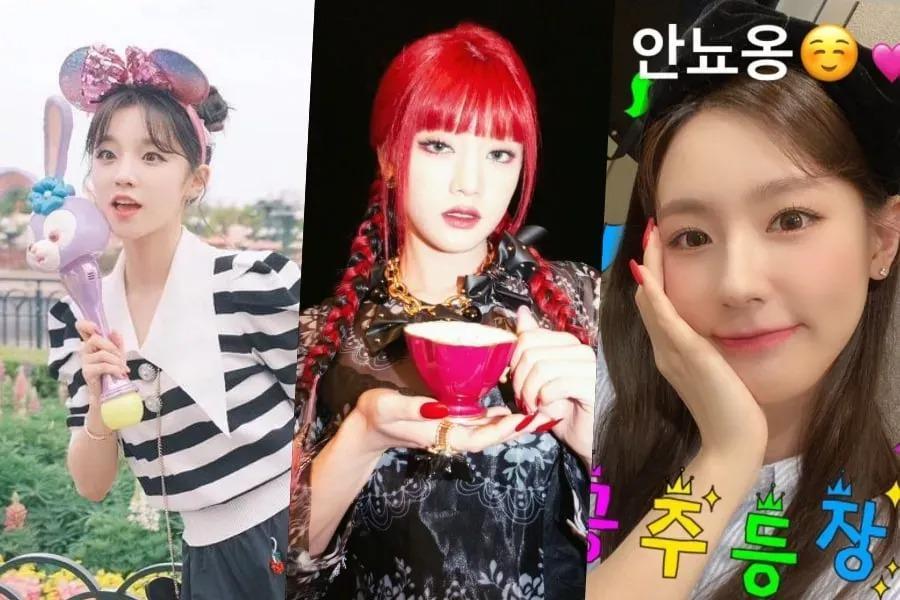 Yuqi, Minnie y Miyeon de (G)I-DLE lanzan cuentas personales de Instagram