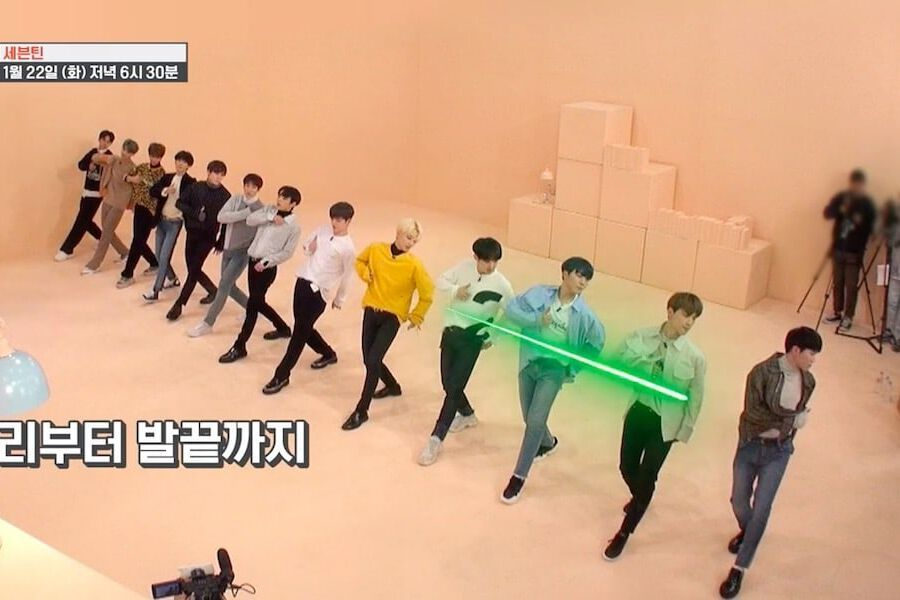 Watch: SEVENTEEN Puts Their Teamwork And Precision To The