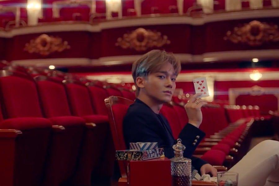 "Watch: EXO Drops Intriguing First Teaser For ""Love Shot"" MV | Soompi"