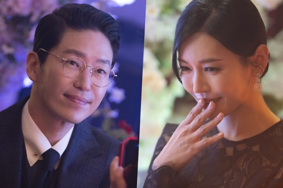 """Uhm Ki Joon Gets Down On One Knee For Kim So Yeon In """"The Penthouse 2"""""""
