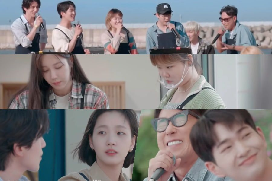 Watch: Lee Ji Ah, Lee Dong Wook, Kim Go Eun, Onew, Lee Suhyun, And Yoon Jong Shin Invite You To Relax By The Seaside