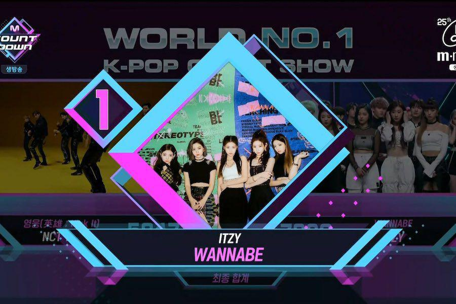 "Watch: ITZY Scores 4th Win For ""WANNABE"" On ""M Countdown""; Performances By Kang Daniel, Ong Seong Wu, And More"