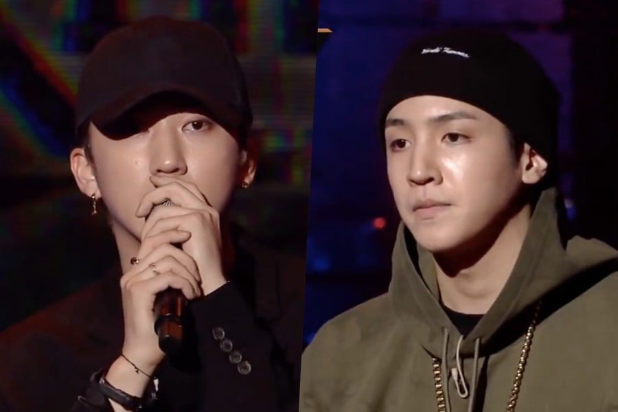 """Watch: Stray Kids' Changbin And PENTAGON's Wooseok Perform For Producers In 2nd Round Of """"Show Me The Money 9"""""""