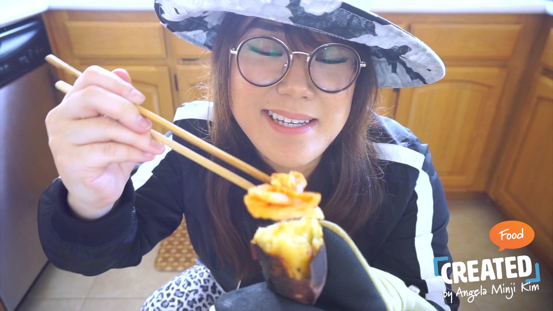 Angela Minji Kim Episode 9: How to Roast Korean Sweet Potatoes