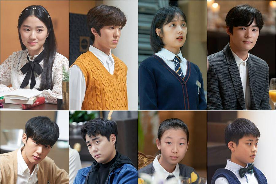 """Young And Rookie Actors Impress Viewers With Their Talent In """"SKY Castle"""""""