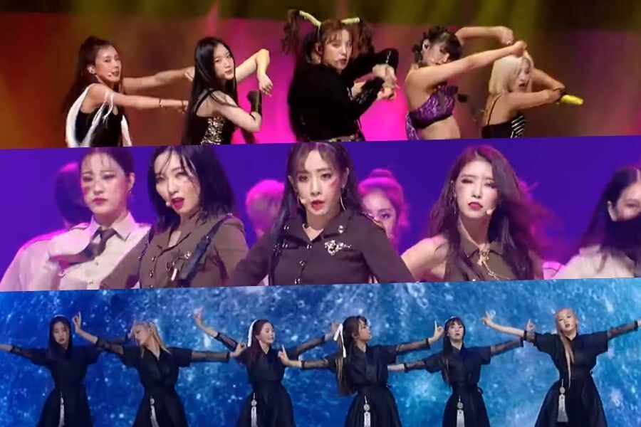 "Watch: (G)I-DLE, Lovelyz, And Oh My Girl Enchant With Impactful Cover Performances On ""Queendom"""