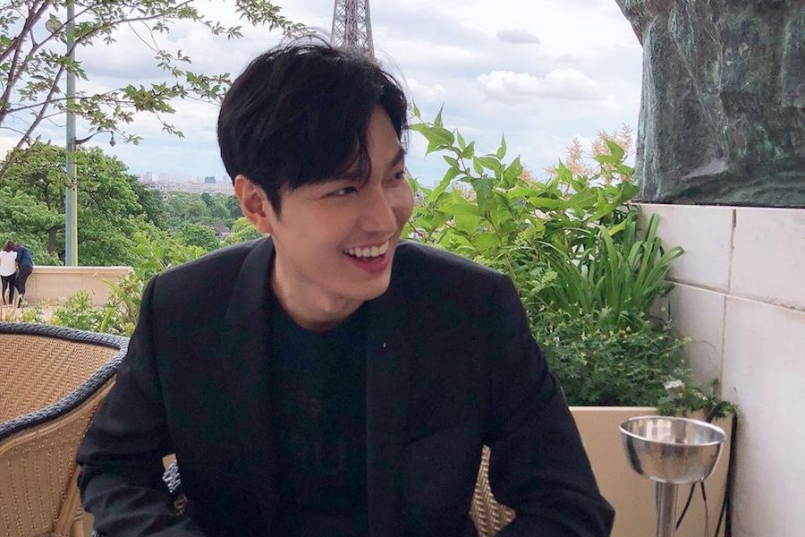 Lee Min Ho Delights Fans With 1st Live Broadcast Since Discharge From Military