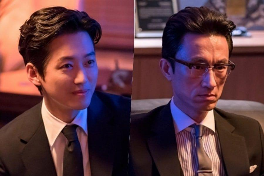 """Namgoong Min And Kim Byung Chul Have An Intense Rivalry For """"Doctor Prisoner"""""""