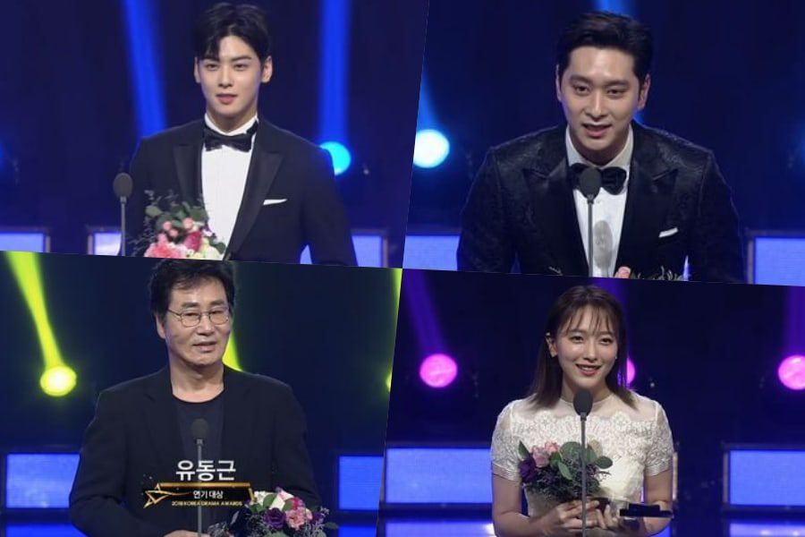 Winners Of The 2018 Korea Drama Awards | Soompi