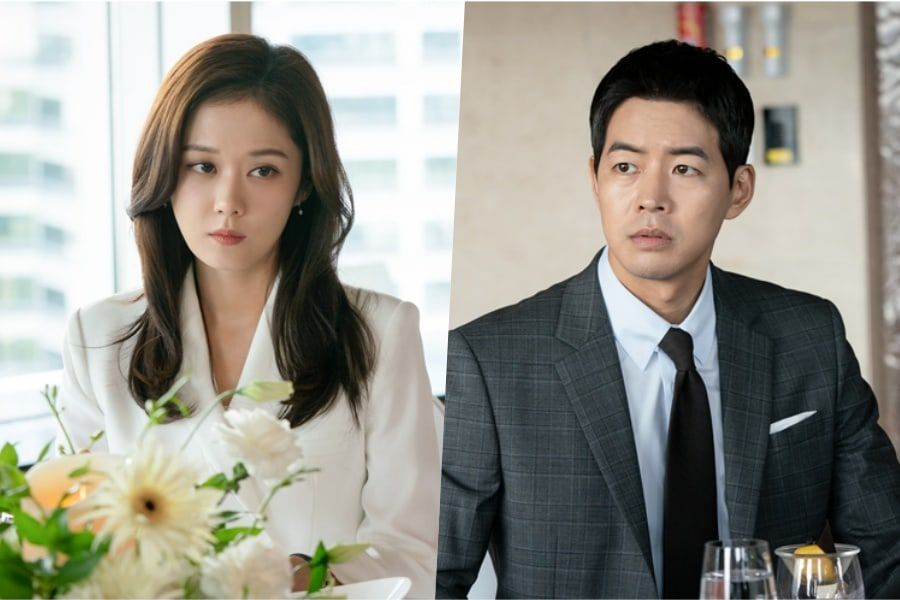 "Jang Nara Glares Daggers At Lee Sang Yoon During An Uncomfortably Tense Gathering In ""VIP"""