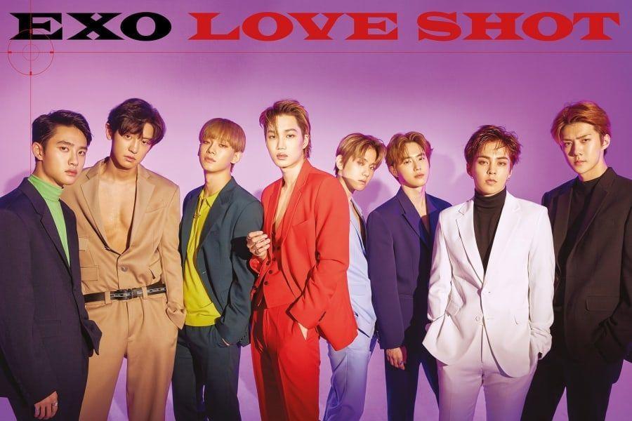 """EXO arrasa en las listas de iTunes de todo el mundo con """"Love Shot"""""""