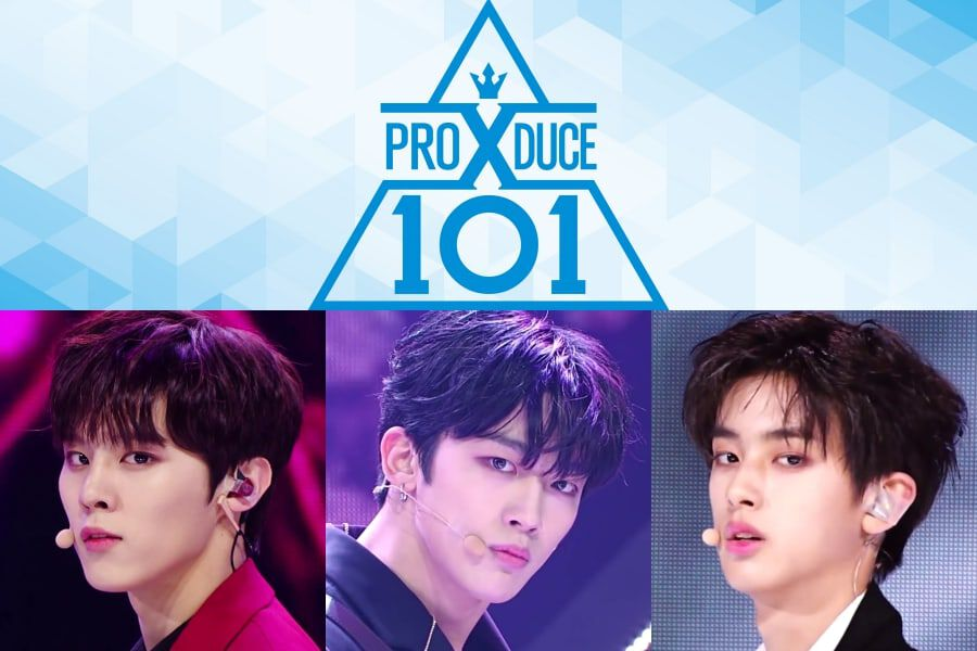"Produce X 101"" And Contestants Take Over Rankings Of Buzzworthy Non"