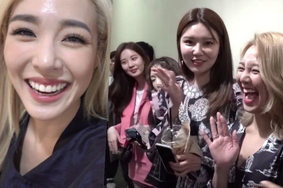 Tiffany comparte lindos momentos de la mini reunión de Girls' Generation