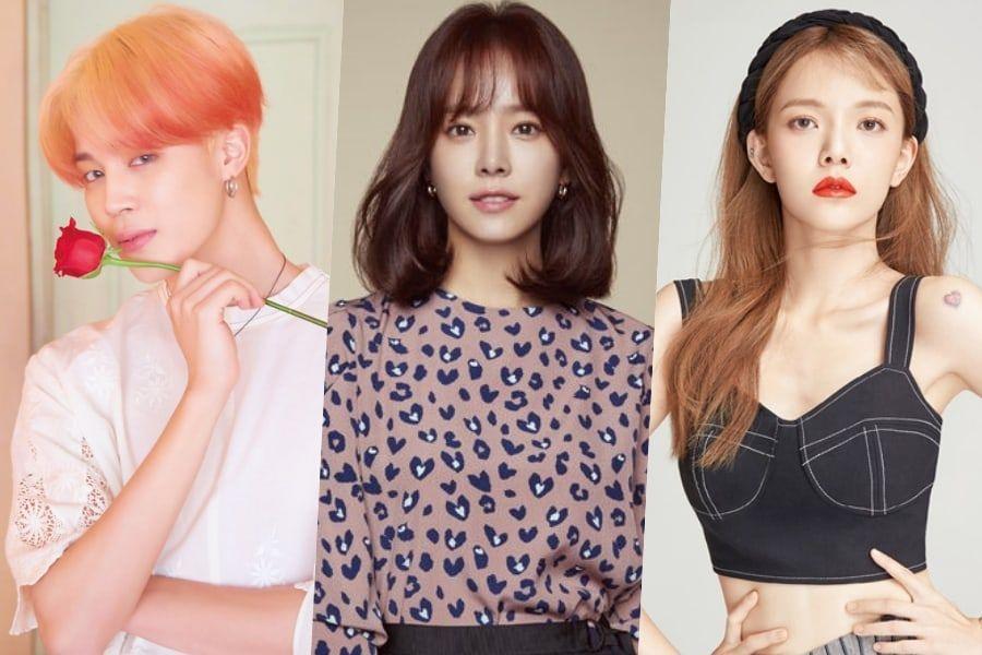 6 Lovable Celebrities Named Jimin Soompi
