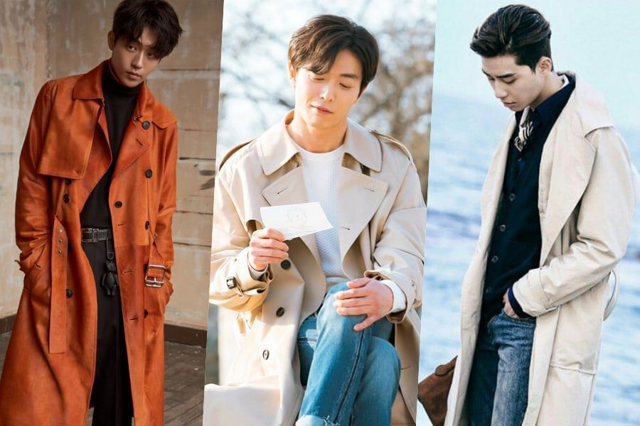 Male Celebs Who Make Us Fall In Love, Trench Coat Male Celebrities