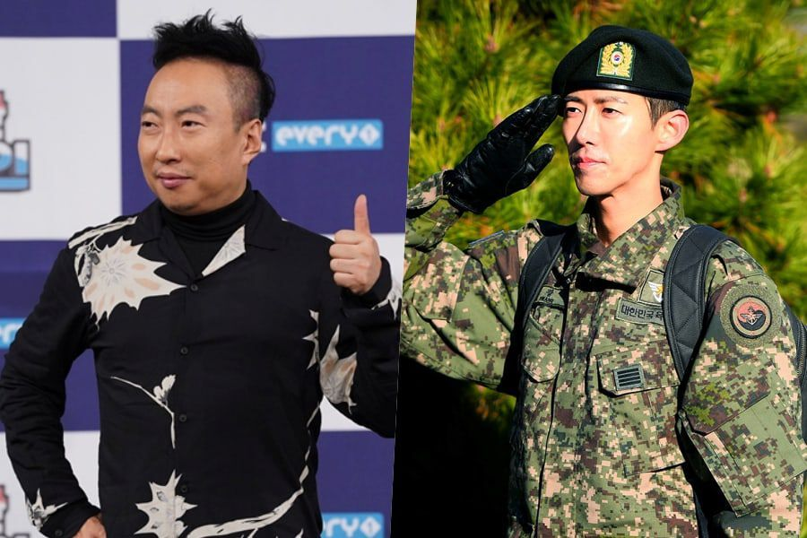 Park Myung Soo Congratulates Kwanghee After Discharge From Army