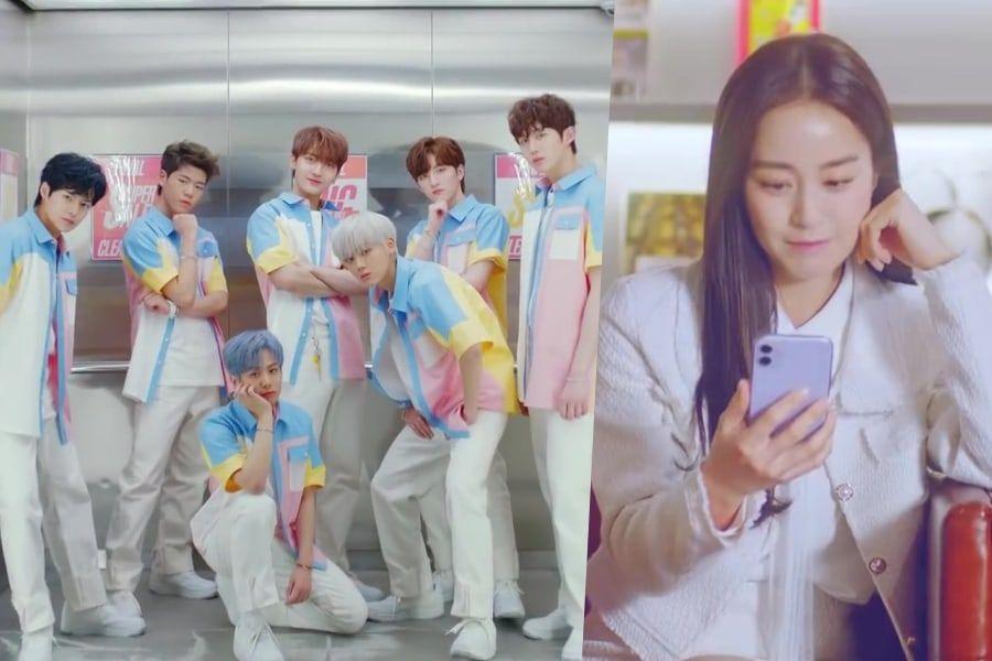 "Watch: Ciipher Says ""I Like You"" In Charming Debut MV Starring Kim Tae Hee"