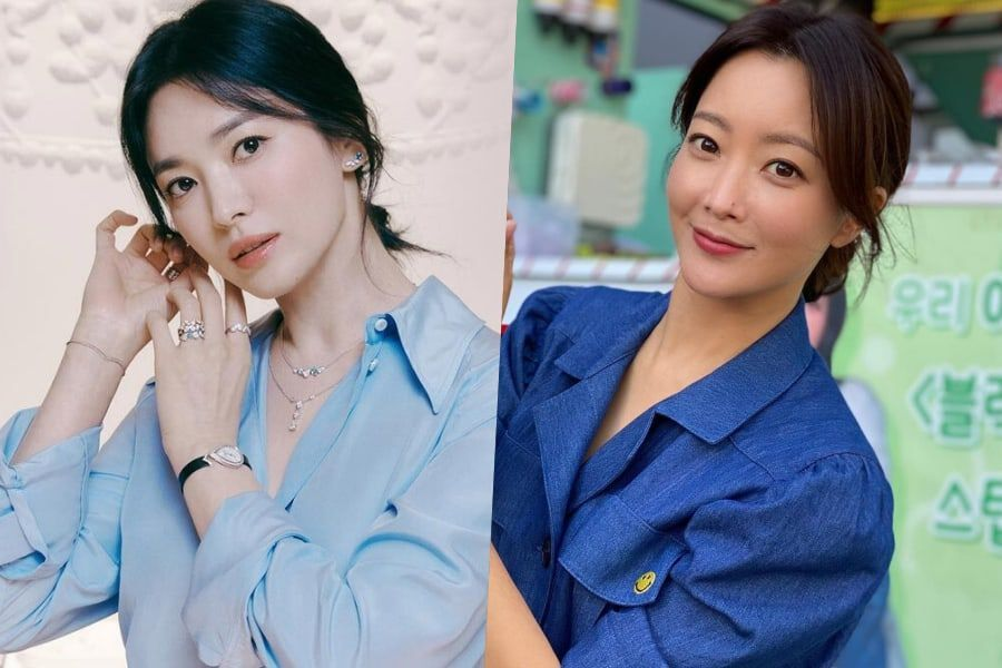 Song Hye Kyo Shows Love For Close Friend Kim Hee Sun On Set Of Her New Drama