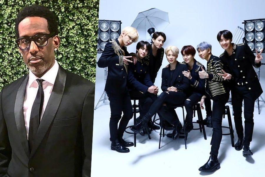 Boyz II Men's Shawn Stockman Proudly Talks About Being A Fan Of BTS