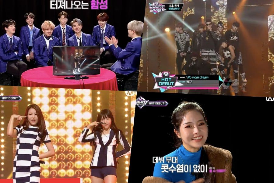 """Watch: BTS, MAMAMOO, MONSTA X, And Lovelyz React To Their """"M"""