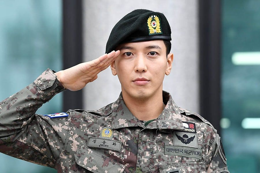 CNBLUE's Jung Yong Hwa Discharged From Military; Promises To Show A More Mature Side Of Himself In Future