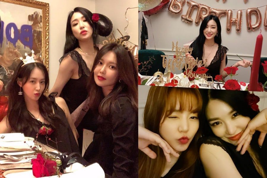 Girls' Generation Gets Together To Celebrate Tiffany's Birthday And Their 13th Debut Anniversary