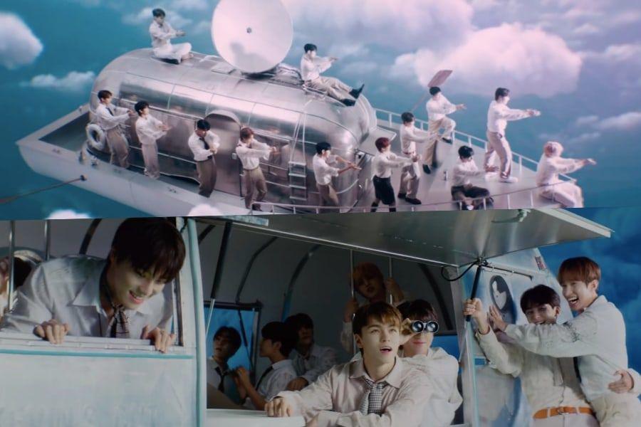 """SEVENTEEN hace un viaje en el cielo juntos en MV sorpresa para """"My My"""""""