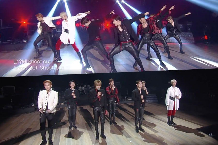 "Watch: MONSTA X Performs ""Shoot Out"