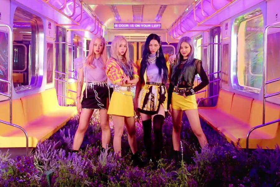 "aespa Achieves Impressive Record With 24-Hour View Count For ""Black Mamba"" Debut MV"
