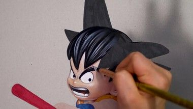 Drawing Hands Episode 114: Drawing Dragon Ball - Son Goku [Drawing Hands]