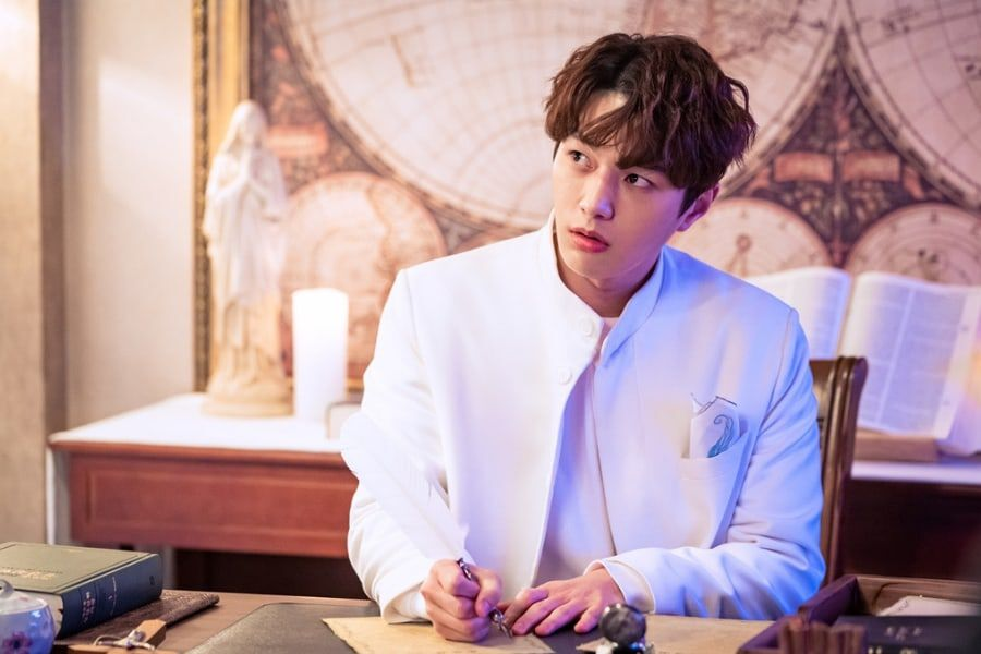 INFINITE's L Transforms Into A Playful Angel For New Drama With Shin