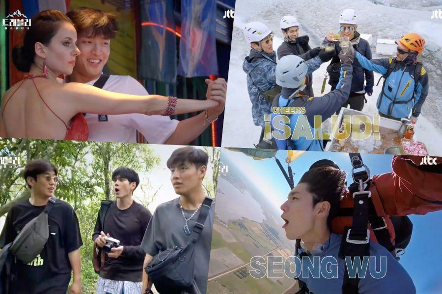 "Watch: Kang Ha Neul, Ong Seong Wu, And Ahn Jae Hong Take On Adventures Together In Argentina In New ""Traveler"" Teaser"